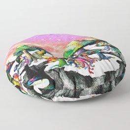 Mushroom Paradise Floor Pillow