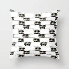 SKULL 3 Throw Pillow