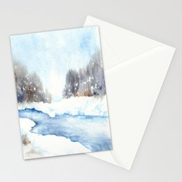Mid-Winter Musing Stationery Cards