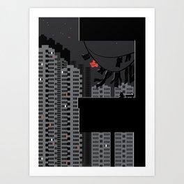 night breeze Art Print