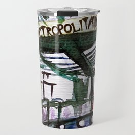 Paris Metro Sketch Chatelet Travel Mug