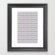 pttrn2 Framed Art Print