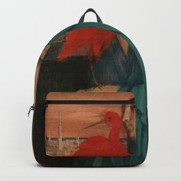 """Edgar Degas """"Young Woman with Ibis"""" Backpack"""