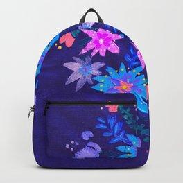 Blue Harvest Blooms Backpack