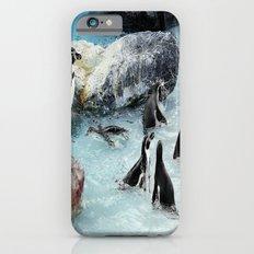 Penguins. Slim Case iPhone 6s