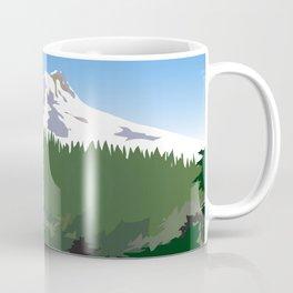 Mt Hood Meadows Hike Coffee Mug