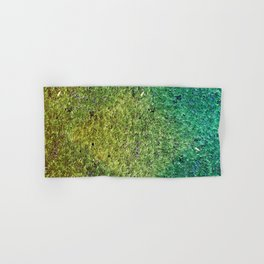 Patchwork Duckweed Hand & Bath Towel
