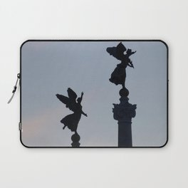 Vittoriano angels at sunset 1 Laptop Sleeve
