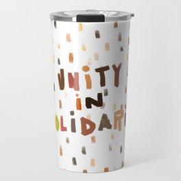 Unity in Solidarity Travel Mug