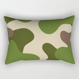 Camouflage Pattern (Camo) Rectangular Pillow