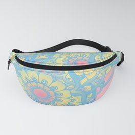Pastel colored daisies Fanny Pack