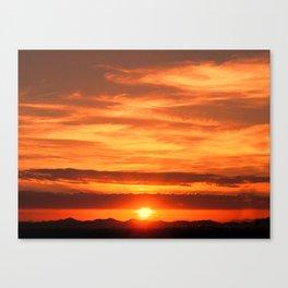 Jeddah Sunrise Canvas Print