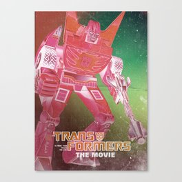 The Transformers Movie / Rodimus Prime Canvas Print