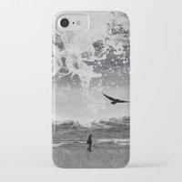 waterfall iPhone & iPod Cases featuring WaterFall by Sergio Varanitsa