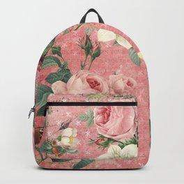 Vintage Rose Garden Backpack