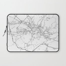 Minimal City Maps - Map Of Florence, Italy. Laptop Sleeve