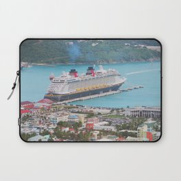 View of our ship Tortola Laptop Sleeve