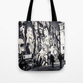 Rock n Roll Streets Tote Bag