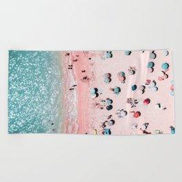 Ocean Print, Beach Print, Wall Decor, Aerial Beach Print, Beach Photography, Bondi Beach Print Beach Towel