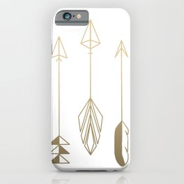 Be Brave Little Arrow (gold) iPhone Case