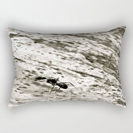 The Ant Goes Marching Rectangular Pillow