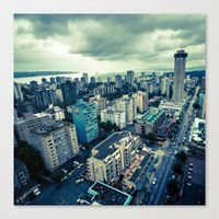 vancouver Canvas Prints featuring Vancouver by James Bowron