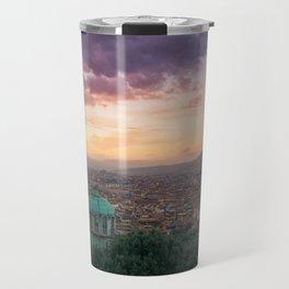 Sunset over Florence, Italy Travel Mug