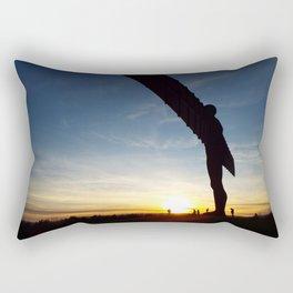 Angel at Sunset Rectangular Pillow
