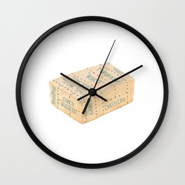 Tofu Cuts Wall Clock