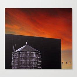 New York Sunset 9 Canvas Print