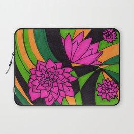 Floral Psychedelia Laptop Sleeve