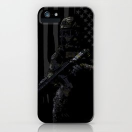 Soldier iPhone Case