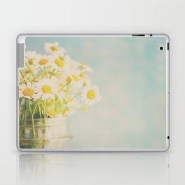 A mason jar full of pretty flowers. Laptop & iPad Skin