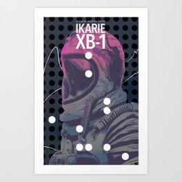 Ikarie XB-1 Art Print