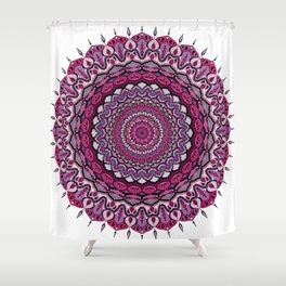 Mandala Creatività Shower Curtain
