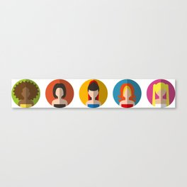 SPICE GIRLS ICONS Canvas Print
