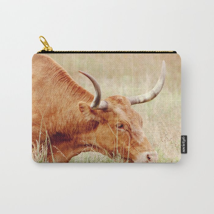 Long Horn Carry-All Pouch