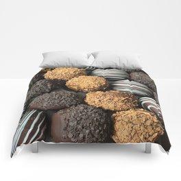Truffle Chocoholic Fudge Mania Comforters