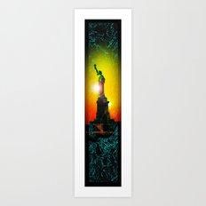 Statue of liberty - Freiheitsstatue New York 10 Art Print