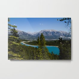 Canmore Metal Print