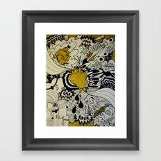 Cœur de Pirate Framed Art Print