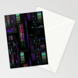 Miami Glitch Stationery Cards