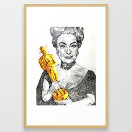 Joan Crawford Framed Art Print
