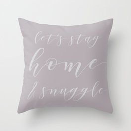 Autumn Snuggles Throw Pillow