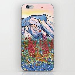 Denali Alpenglow iPhone Skin