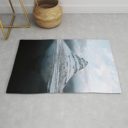 Kirkjufell Mountain in Iceland - Landscape Photography Rug