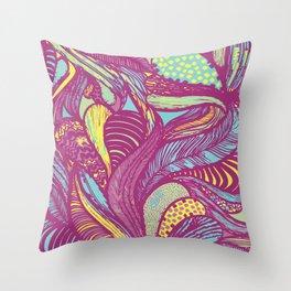 Rainforest Rhapsody Throw Pillow