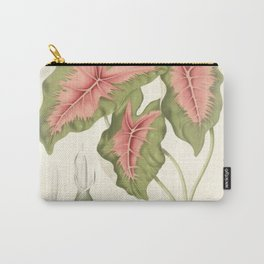Caladium bicolor Carry-All Pouch