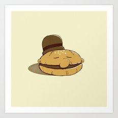 Burger Fiend Art Print