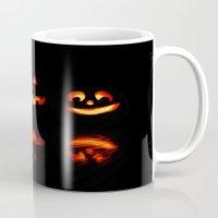 halloween Mugs featuring haLLoween by 2sweet4words Designs